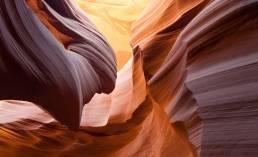 Antelope Canyon Felswände in den USA