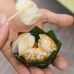Kanom Krok ist eine typische Süßspeise aus Thailand