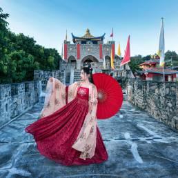 Die Stadt Mae Hong Son besticht durch ihre Tempellandschaft und ihre durchmischten Kulturen