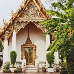 Der Wat Pho Tempel in Bangkok soll zur Entstehung der Thai-Massage beigetragen haben